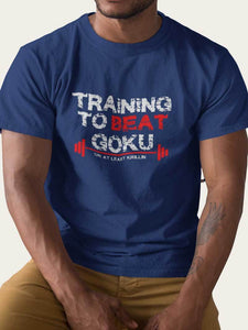 'Training to beat Goku' Tee
