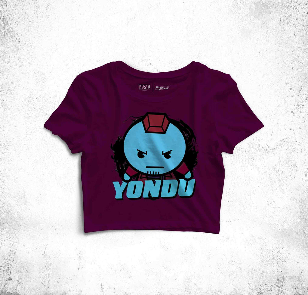 Yondu Fun Toon Crop Top