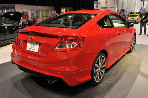 2012 2013 HONDA CIVIC SI ASPEC HFP STYLE REAR LIP COUPE 2-DOOR