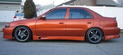 1998 1999 2000 2001 2002 TOYOTA COROLLA GTEC TRD STYLE SIDE SKIRTS LIP