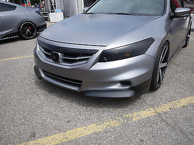 2011 2012 HONDA ACCORD COUPE ASPEC OEM HFP STYLE FRONT LIP