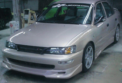 1993 - 1997 TOYOTA COROLLA ORIGINAL TRD GTEC STYLE FULL LIP BODY KIT