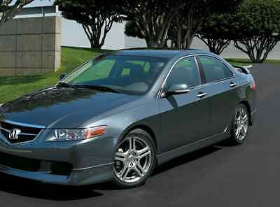 NEW ACURA TSX SIDE SKIRTS LIP BODY KIT A SPEC STYLE - Acura tsx lip