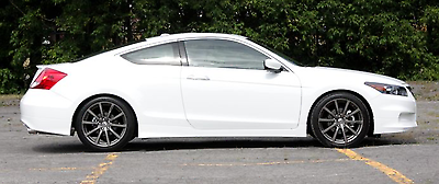 Awesome 2008 2009 2010 2011 2012 HONDA ACCORD COUPE ASPEC OEM HFP STYLE SIDE SKIRTS