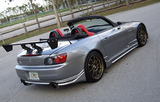 NEW 0 01 02 03 04 05 06 07 08 09 HONDA S2000 CWEST STYLE SIDE SKIRTS BODY KIT