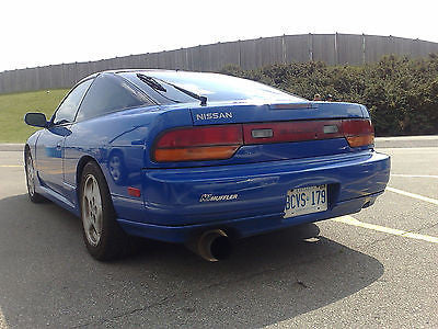 1989 1990 1991 1992 1993 240SX 180SX OE FOHO STYLE REAR LIP BODY KIT HATCH