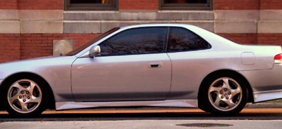 1997 1998 1999 2000 2001 HONDA PRELUDE WW STYLE SIDE SKIRT BODY LIP KIT
