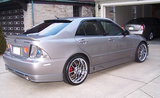 2001 2002 2003 2004 2005 LEXUS IS300 JP VISAGE STYLE REAR LIP KIT