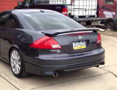 2003 2004 2005 2006 2007 HONDA ACCORD COUPE ASPEC HFP V2 STYLE REAR LIP