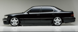 1989 1990 1991 1992 1993 1994 LEXUS LS400 WALD STYLE SIDE SKIRTS LIP BODY KIT