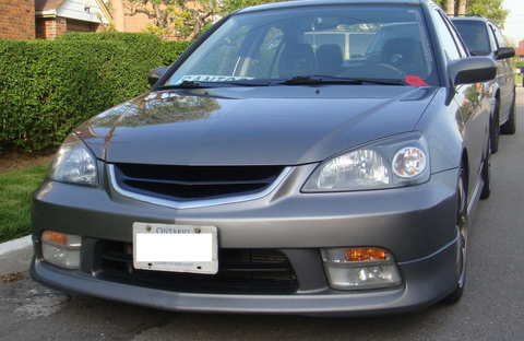 2004 2005 ACURA EL 1.7 OE FACTORY STYLE FRONT LIP KIT