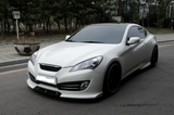 2010 2011 2012 HYUNDAI GENESIS COUPE NEFD STYLE FRONT LIP DIFFUSER