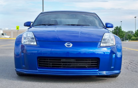 2003 2004 2005 NISSAN 350Z VS VADER STYLE FRONT LIP