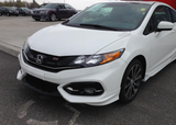2014 2015 HONDA CIVIC ASPEC HFP STYLE FRONT LIP COUPE 2-DOOR