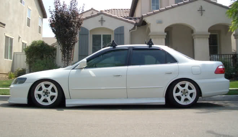 1998 1999 2000 2001 2002 HONDA ACCORD WW STYLE SIDE SKIRTS SEDAN