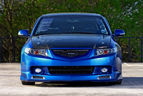 2004 - 2005 ACURA TSX MUGEN STYLE FRONT LIP BODY KIT