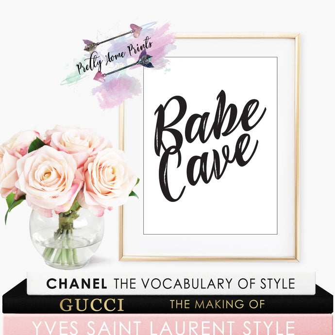 Babe Cave Print