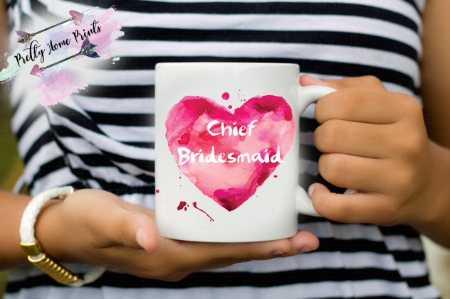 Chief Bridesmaid mug