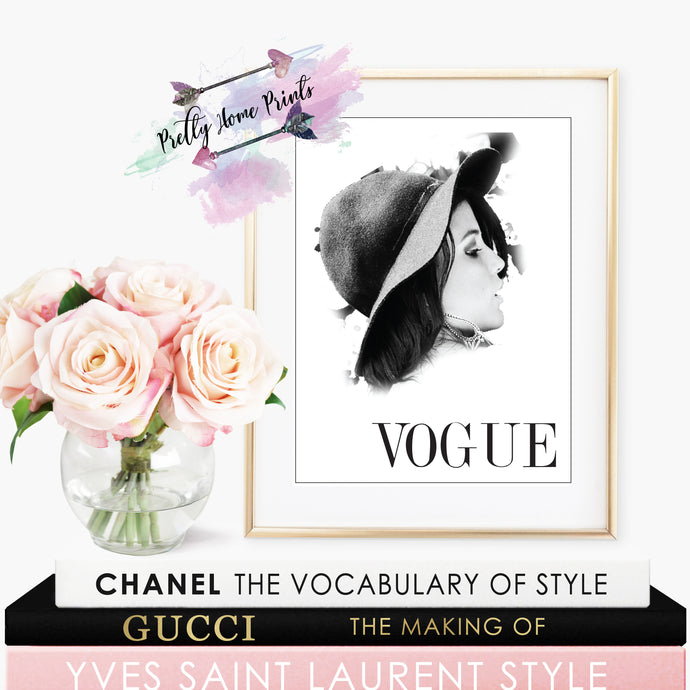 Vogue Chic Cover Print