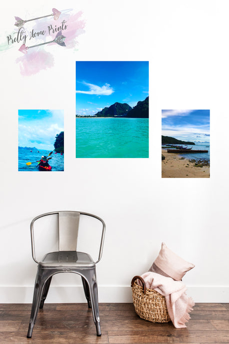 Thailand Sea Skyscape Print