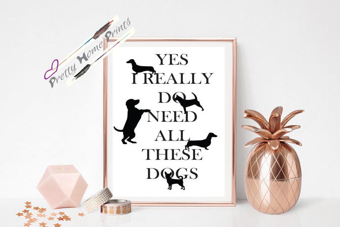 Doggie Lover Print , Kennels , Vets & grooming salons