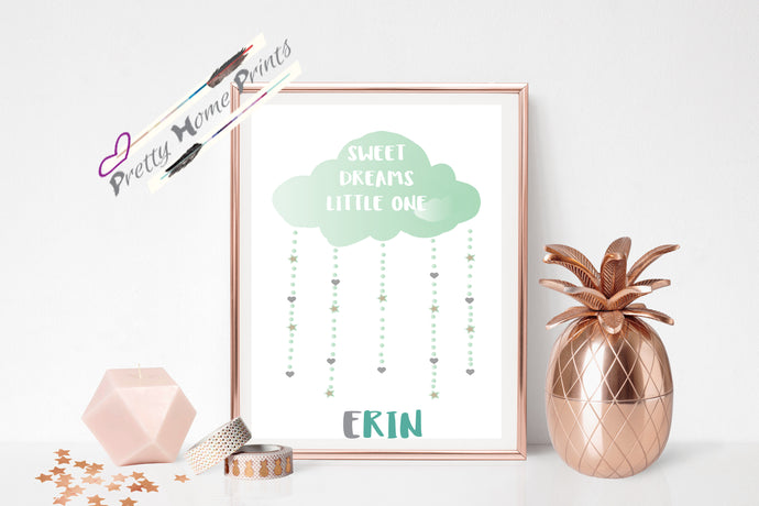 Personalised Nursery Cloud