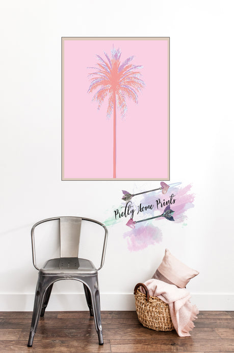 Palm Tree Colour block