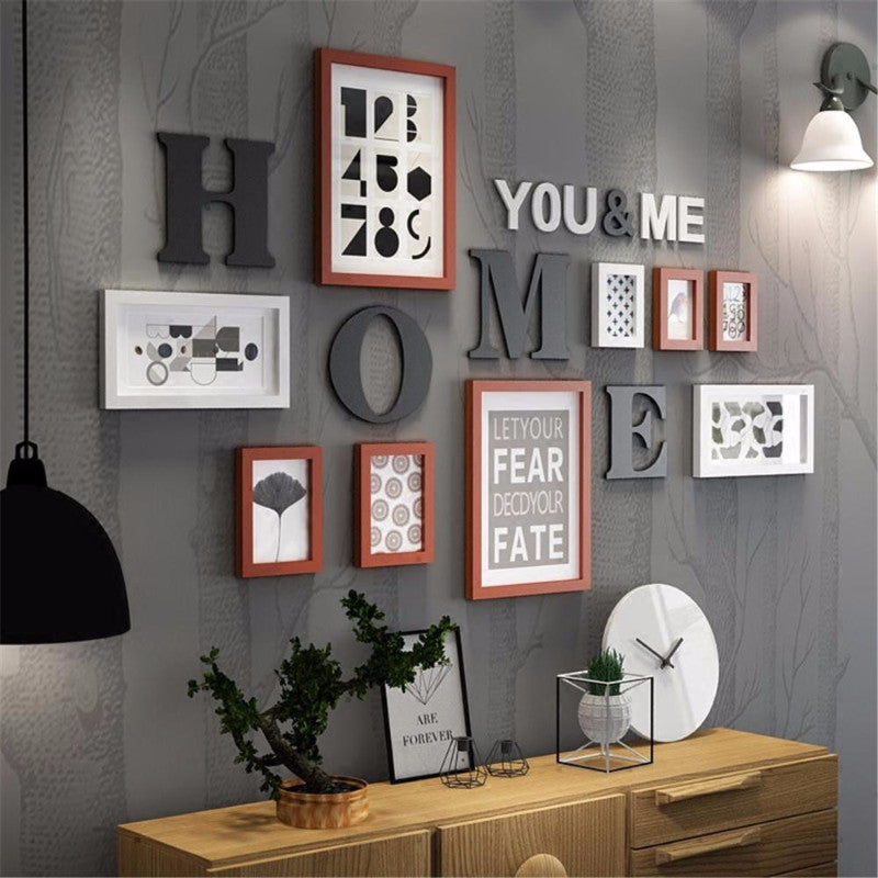 Typography Wall Art Frames