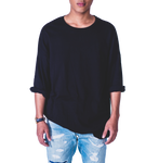 Faree' Homme Oversized T-shirt in Black