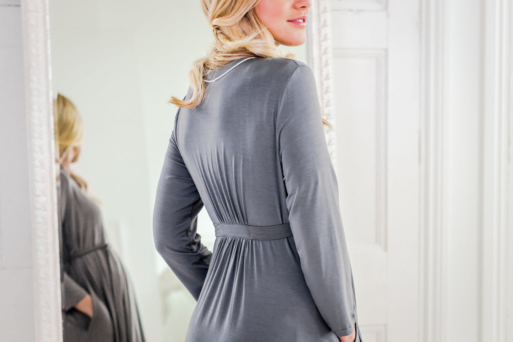 luxury maternity nightwera and loungewear