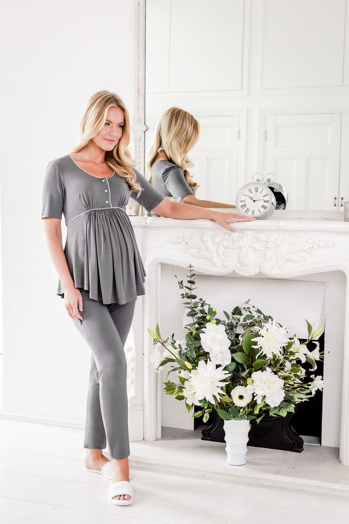 luxury maternity nightwear and loungewear