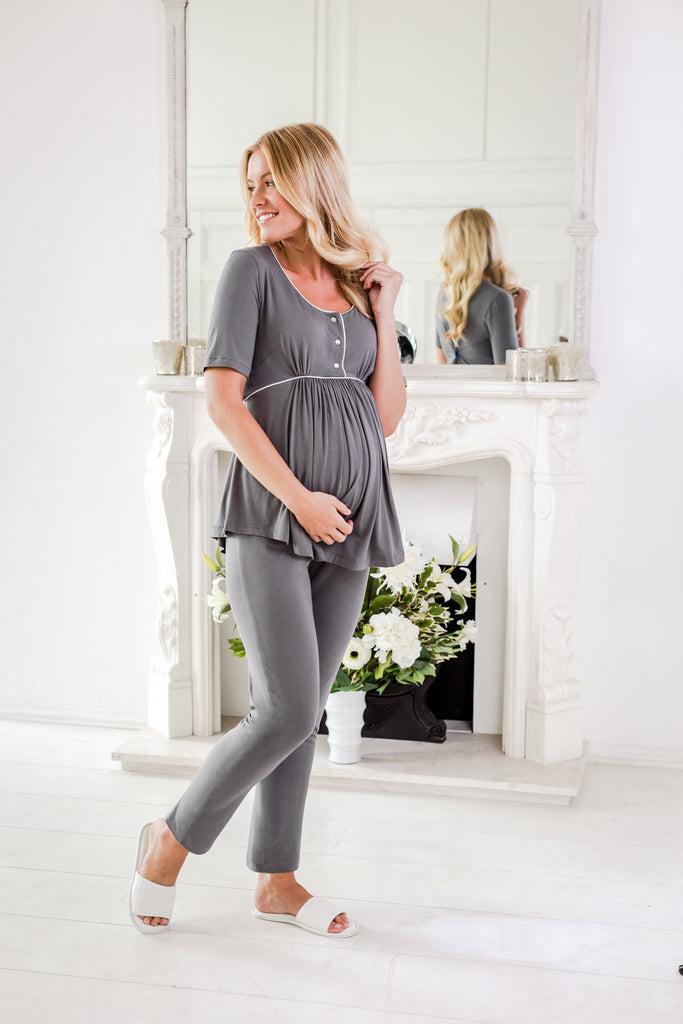 maternity nightwear and loungewear Elizabeth maternity pyjamas
