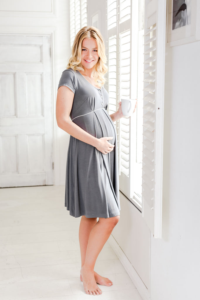 luxury maternity nightdress