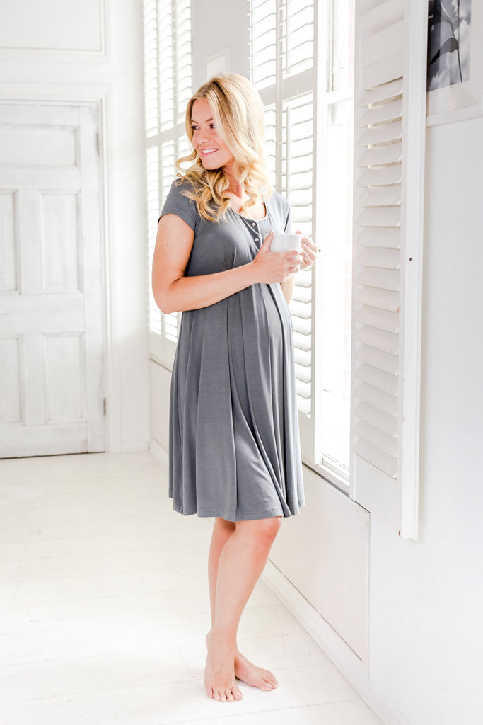 Willa - luxury maternity nightdress
