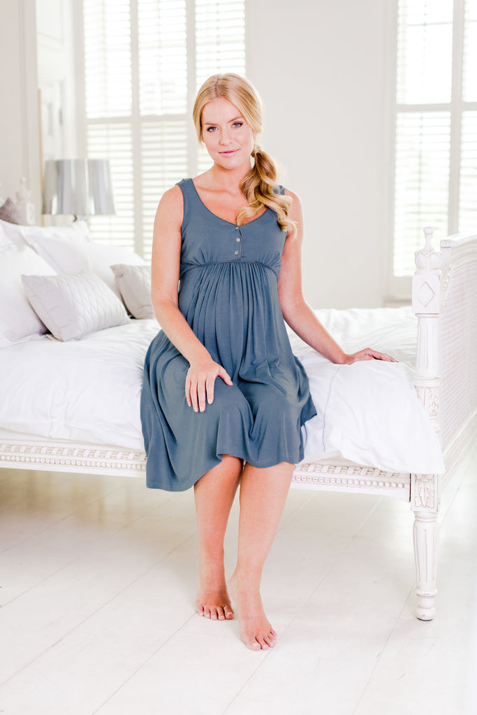 luxury maternity nightwear and loungewear maternity nightdress