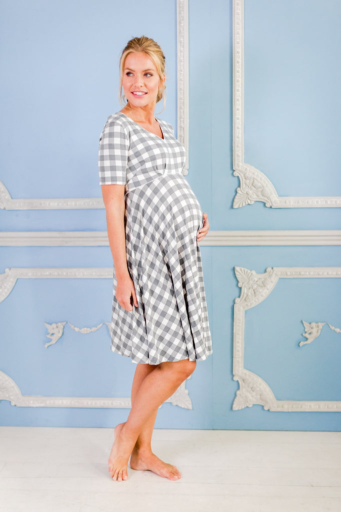 Alix - Luxury maternity nightdress