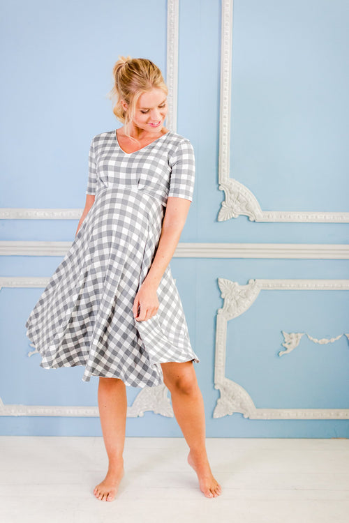 Alix maternity nightdress / maternity loungewear/maternity wear