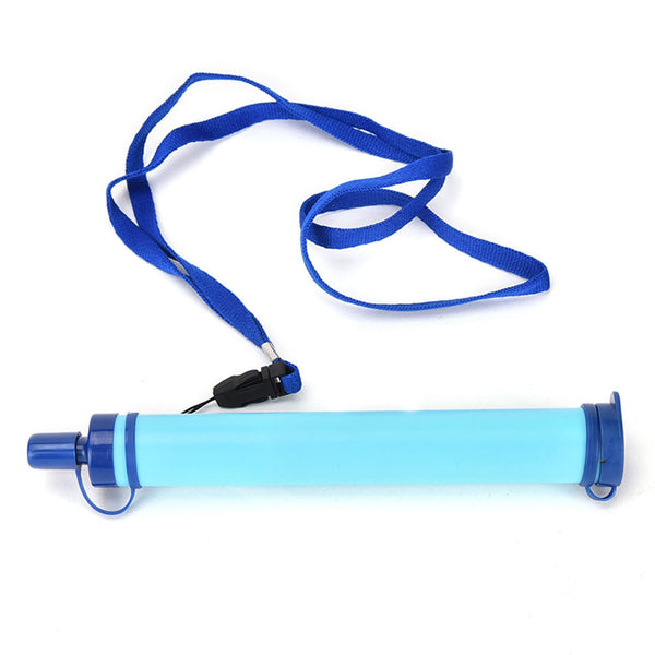 Outdoor mini Water filter straw tube Personal water purifier bottle filter