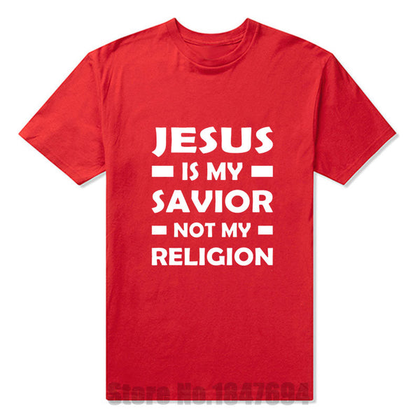 Jesus Is My Savior Not My Religion Tee Shirt