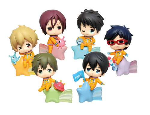 FREE! ~Star Night~ Taito Kuji Figures