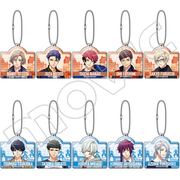 A3! Acrylic Keyholder Collection (Autumn and Winter Troupe)