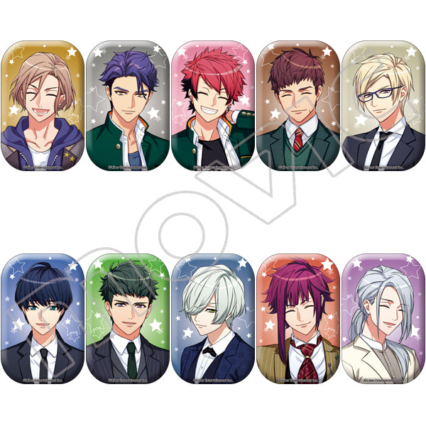 A3! Trading Badges Smile Ver. (Autumn and Winter Troupe)