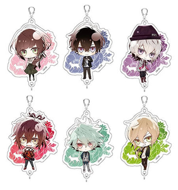 (Event Exclusive Pre-Order) Collar x Malice THE SHOP Chara Collaboration Connecting Acrylic Keyholder