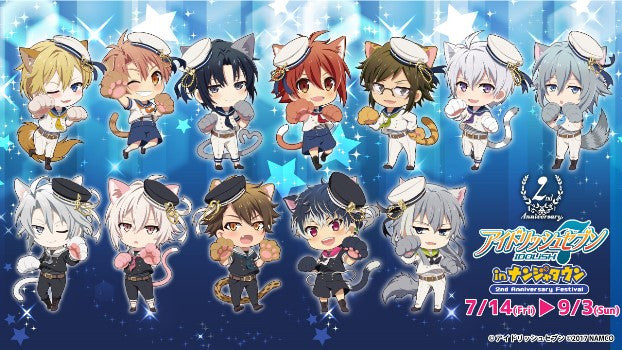 Idolish7 Namja Town Cafe Collaboration Goods
