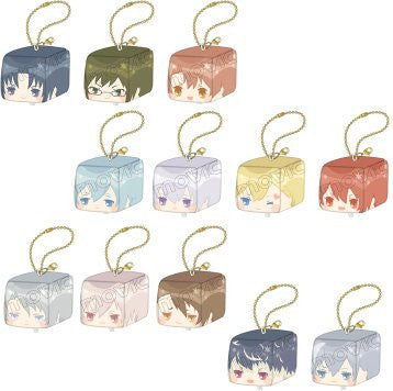 IDOLISH7 Face Cube Plush Straps