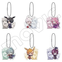 Shiro to Kuro no Alice Acrylic Straps