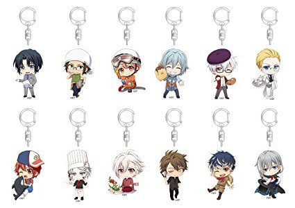 Idolish7 Working Ver. Acrylic Charms