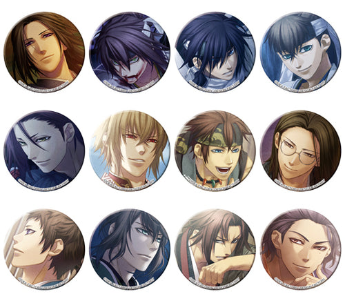 Hakuouki Shinaki Vol. 1 Tsunagaru Can Badges
