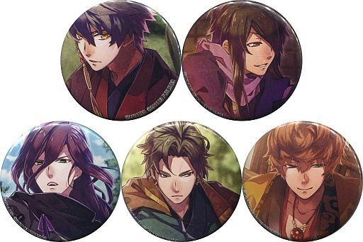 Hyakka Hyakurou / NIGHTSHADE Can Badges