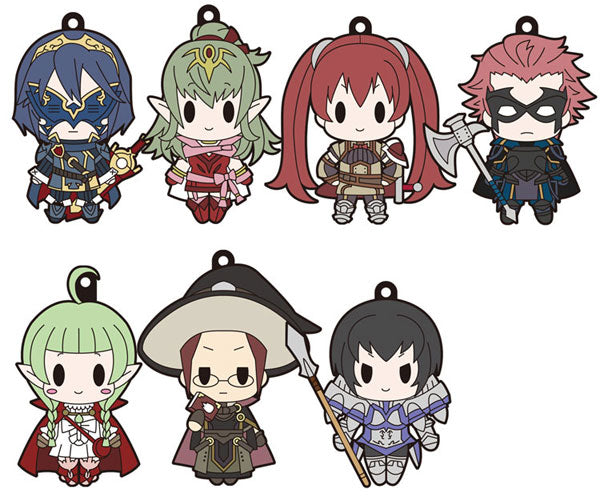 Fire Emblem Awakening D4 Rubber Straps Vol. 4
